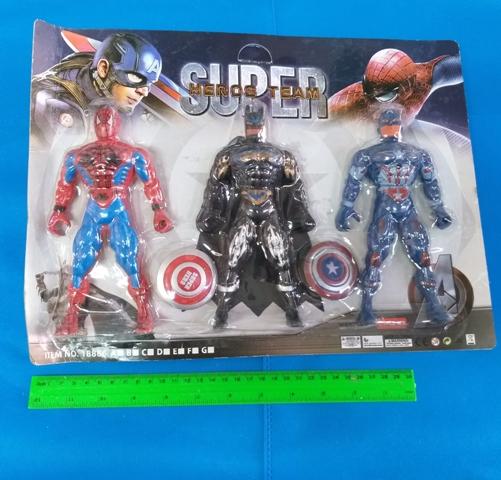 גיבורי על | גיבורי על דמויות | גיבורי על בובות | שלישייה