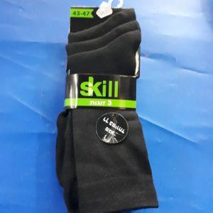 גרביים | ארוך צבע שחור 3 זוגות 43-47