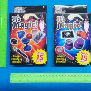 ערכת קוסם לילדים | ערכת קסמים | 15 טריקים