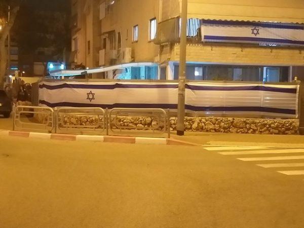 דגל ישראל   דגל לבניין   אורך 10 מטר