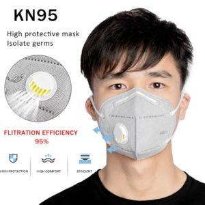 מסכה לפה N95 ֻ מסכות פנים כירורגיות מסכות פנים תקן N95