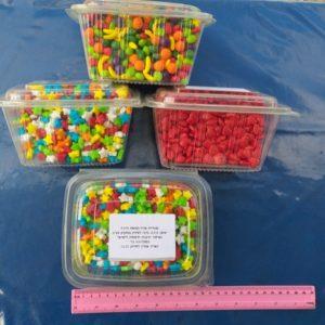 סוכריות סודה 500 גרם | סוכריות בצורת לב/כוכבים/מעורב