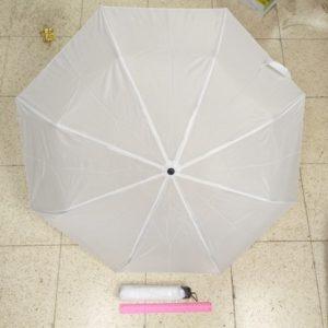 מטרייה מתקפלת לבנה | מטרייה מיני | מטרייה רגיל