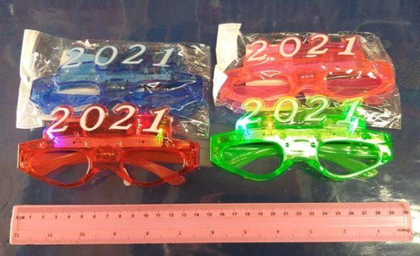 משקפיים 2021   עם אורות למסיבות   אביזרים למסיבות