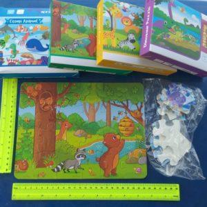 פאזל לילדים 24 חלקים | פאזל חלקים עבים