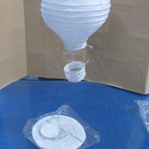 אהיל נייר אורז | אהיל סיני | אהילים מנייר | כדור פורח קטן