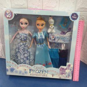 אנה אלזה ואלף צעצועים | בובה אנה אלזה ואלף | בובה בקופסה