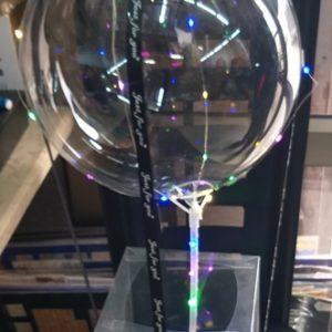 בלון פורח מתנה | מארז כדור פורח | בלון כדור פורח מתנה עם אורות