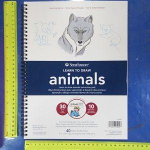 לימוד ציור מקצועי בלוק 40 דף | STRATHMORE