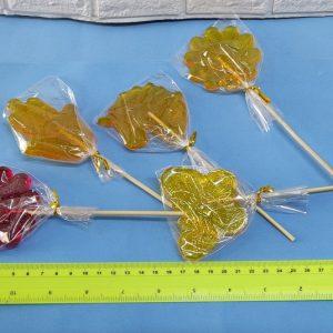 סוכריה על מקל גדולה שקופה | סוכריות על מקל לעיצוב שולחן