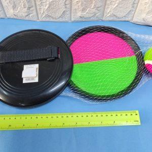 מחבט עגול סקוטש עם כדור טניס | מטקות טניס סקוטש