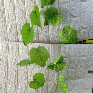 עלים ירוקים | שרשרת עלים | עלה אורך כ 3 מטר