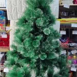 עץ חג המולד | עץ כריסמס | עץ אשוח 2.4 מטר עם קצוות שלג צבועים